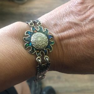 Jewelry - Beautiful Aztec design bracelet never worn.